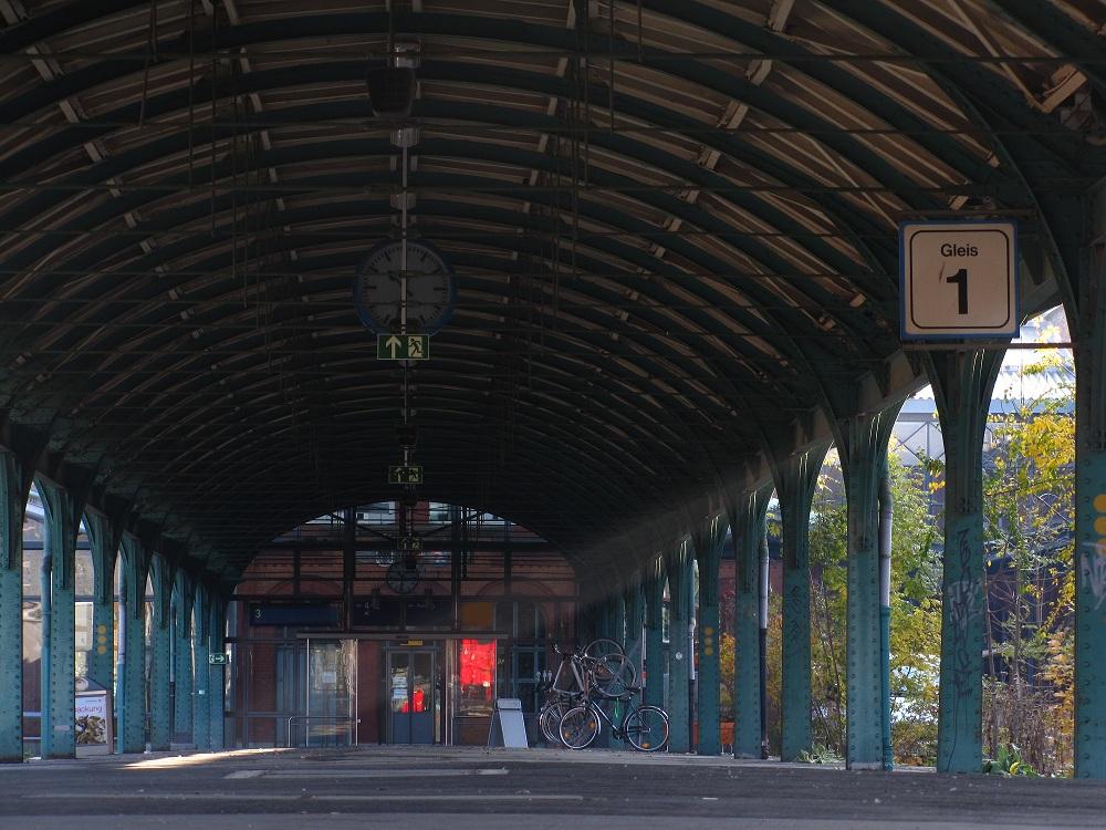 Licht an in Kassel Hbf