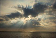Licht-Dramaturgie am Meer...