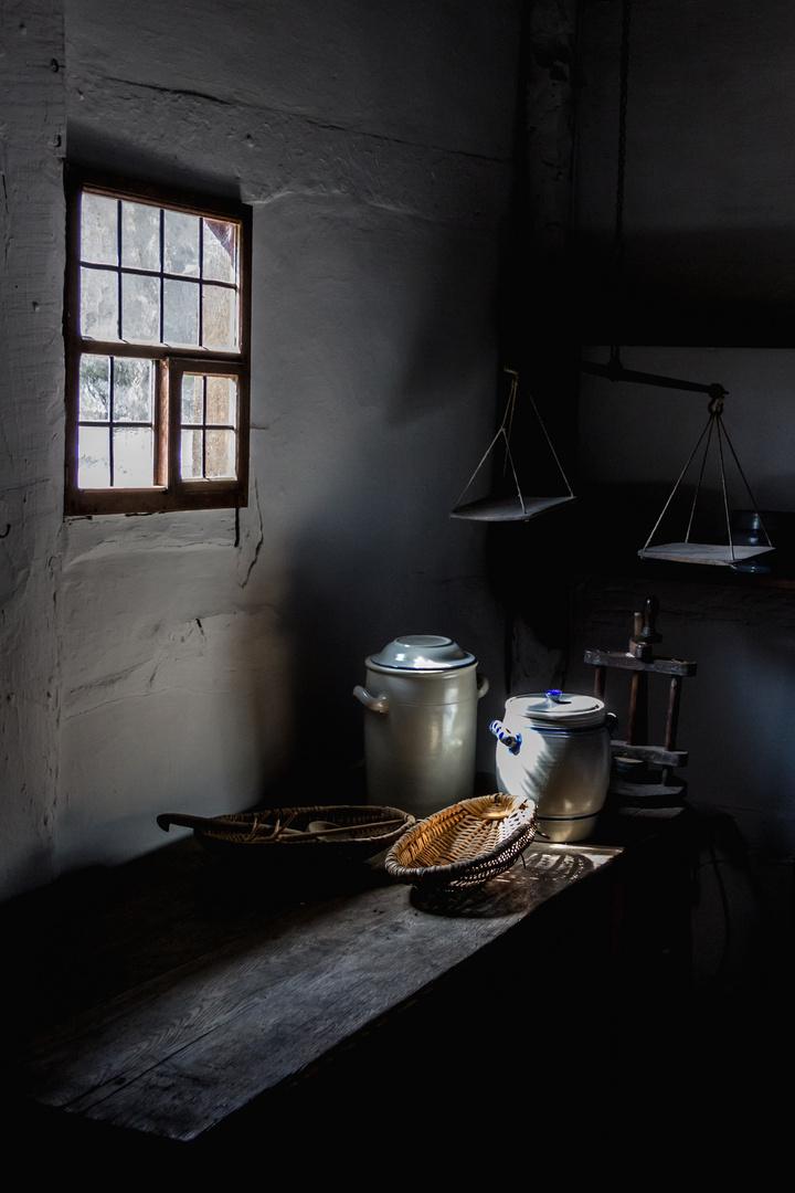 Licht im Bauernhof