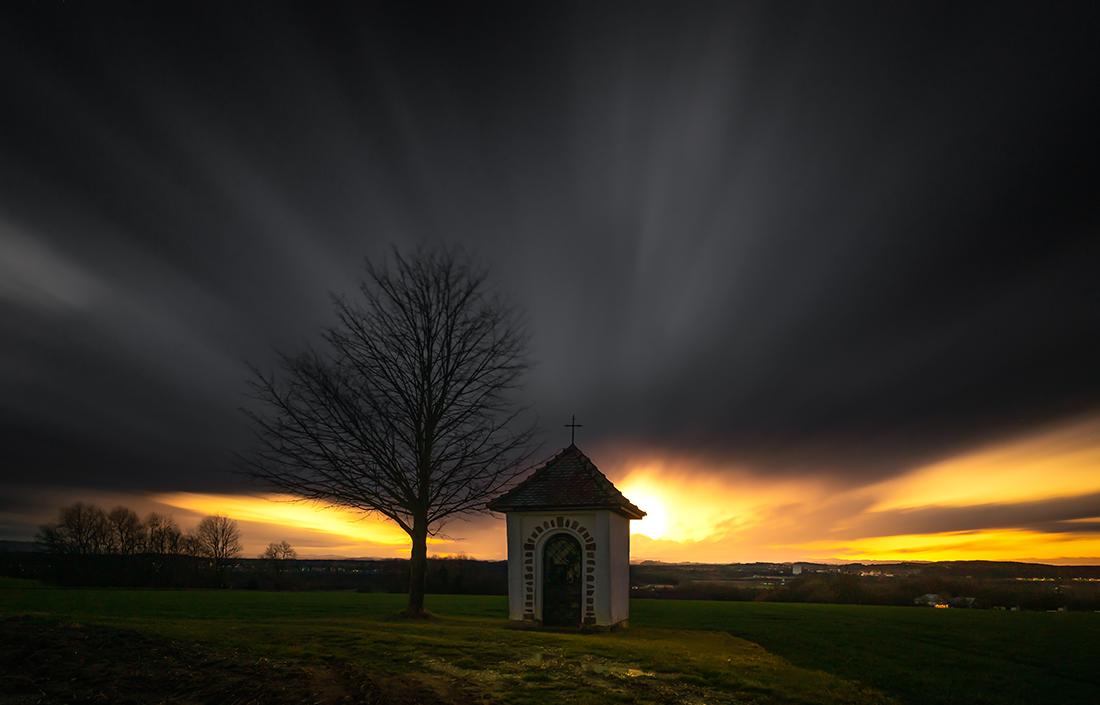 Licht im Sturm