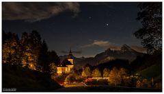 Licht im Watzmannhaus