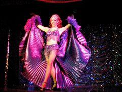 Licht Tänzerin in Lila