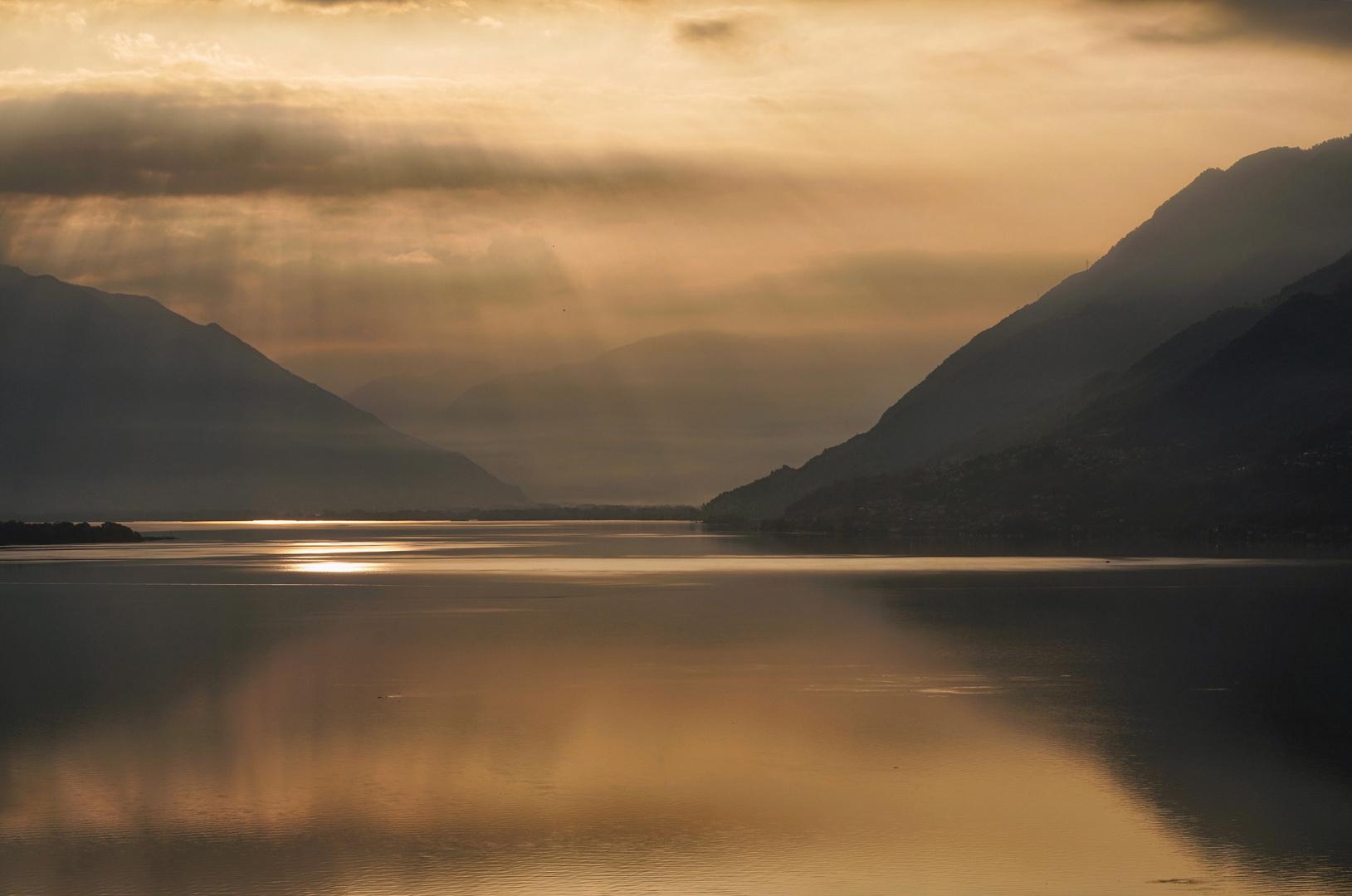 Licht über dem See