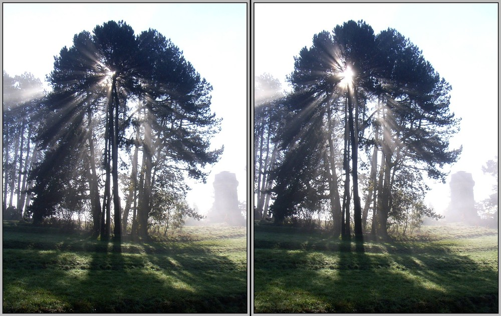 Licht und Schatten 3D