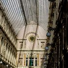 Licht und Schatten in der Galerie Royales Saint Hubert
