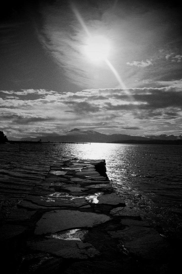 Licht und Schatten in Norwegen