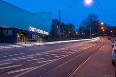 Lichter am Curt-Frenzel-Stadion