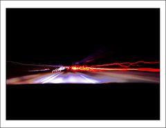 Lichter auf der Autobahn