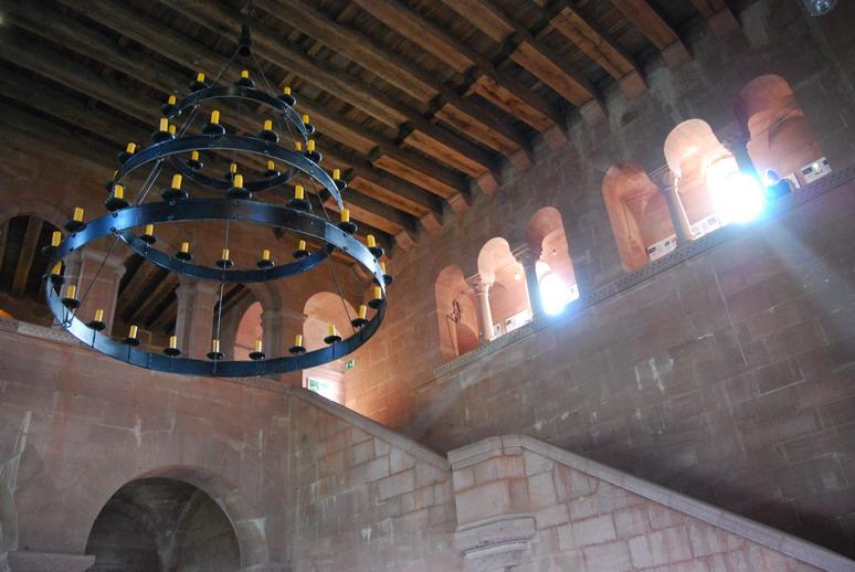 Lichter einer Burg