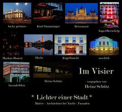 *Lichter einer Stadt* Collage von aeschlih