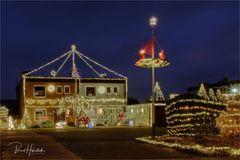 Lichter im Advent .... hier wohnt er ...