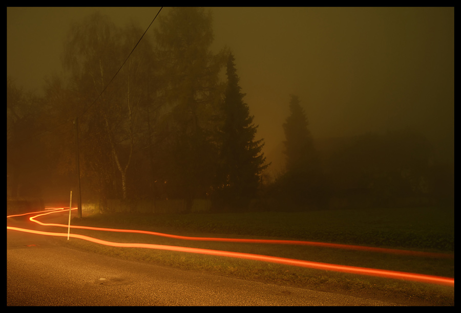 Lichter im Nebel