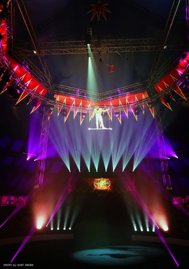 Lichter im Zirkus