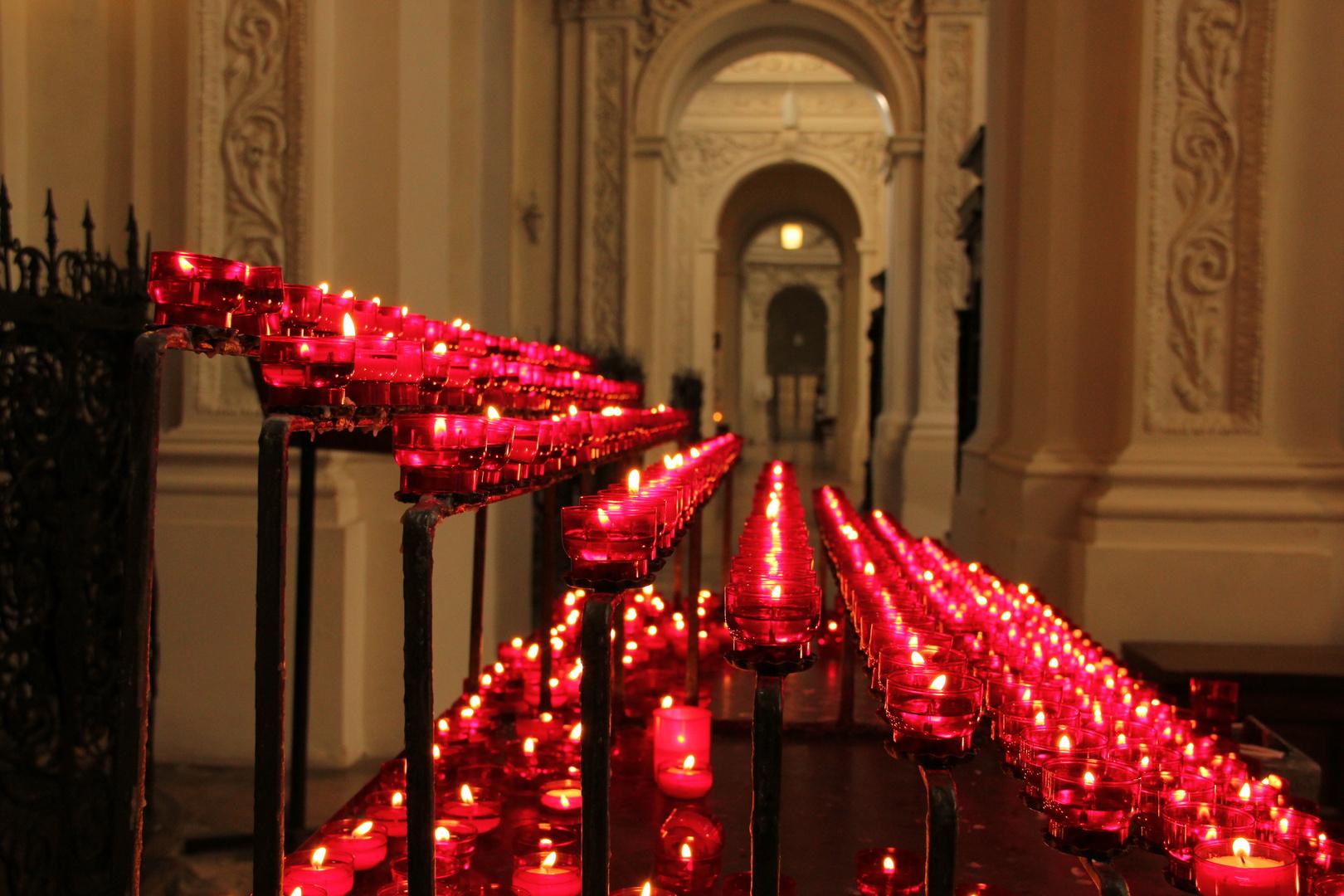 Lichter in St Kajetan