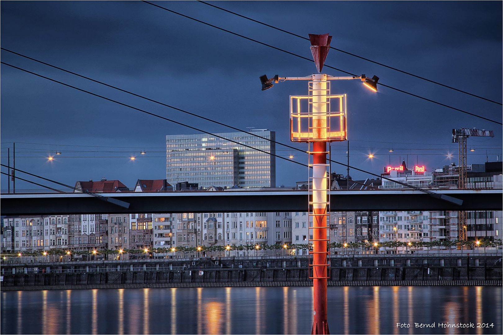 Lichter weisen den Weg ... in Düsseldorf