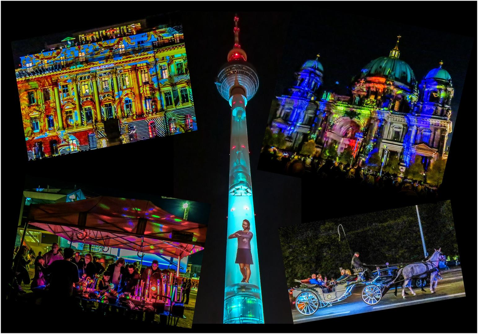 Lichterfest BERLIN 2017 - Collage