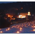 Lichterfest in Obertrubach 2008