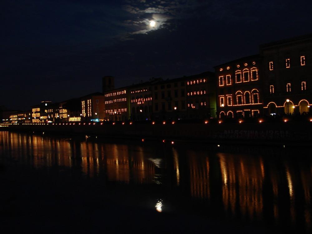 Lichterfest in Pisa
