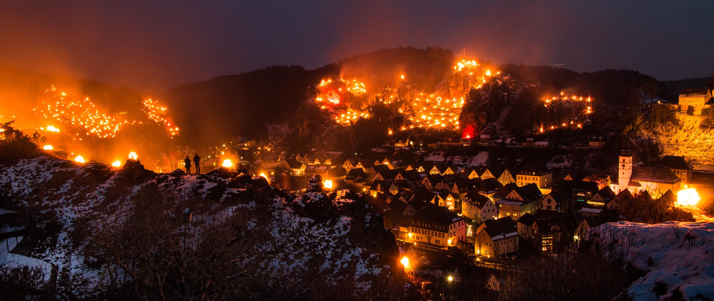 Lichterfest in Pottenstein