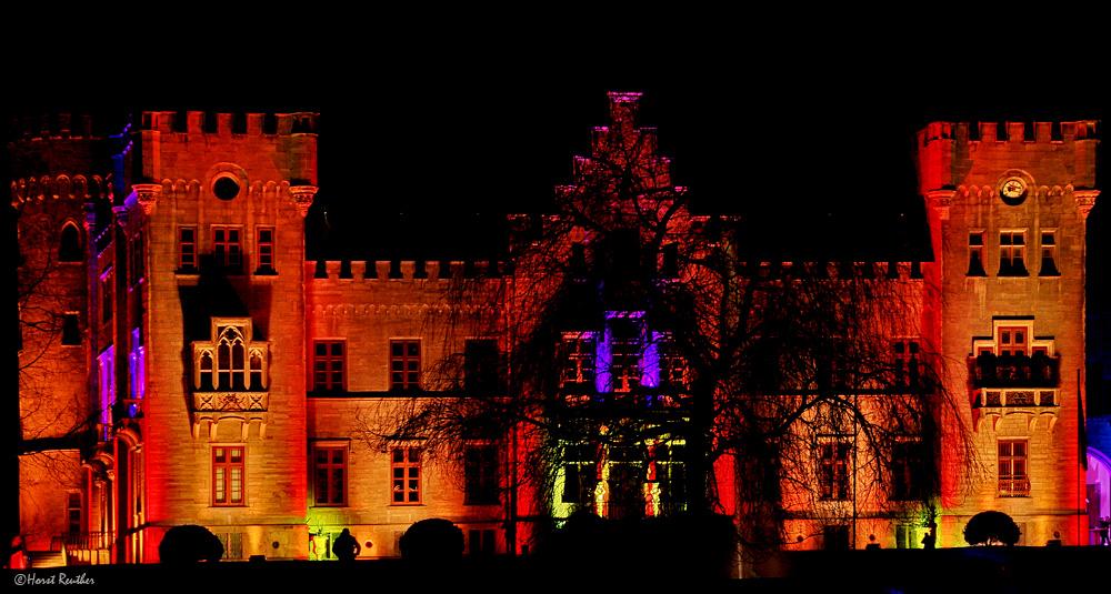 Lichterglanz am Herdringer Jagdschloss