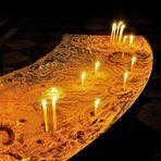 Lichterkerzen für Gebete und Herzenswünsche