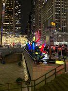 Lichterkette am Rockefeller Center