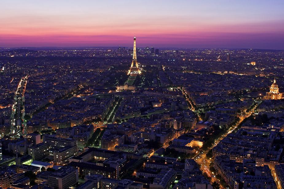 Lichtermeer Paris