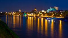 Lichtermehr auf der Elbe
