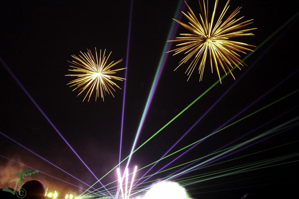 Lichtertanz der Elemente 2015 - Zingst