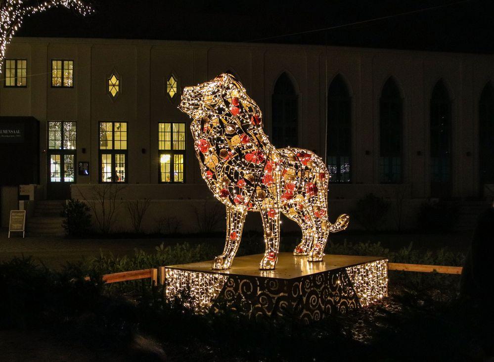 Lichterwelt Zoo Leipzig