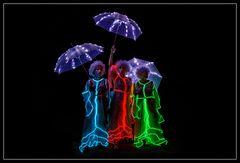 Lichtfeen :: drei Schirme