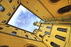 Lichthof des Rathauses Zittau