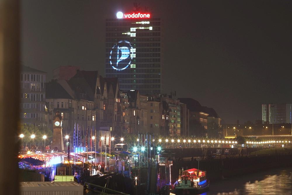 Lichtkunst in Düsseldorf