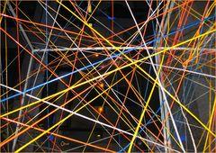 """Lichtkunstausstellung 2008 im DomAquaree. """"Lichtwürfel"""" von Andreas Boehlke (Ausschnitt)"""