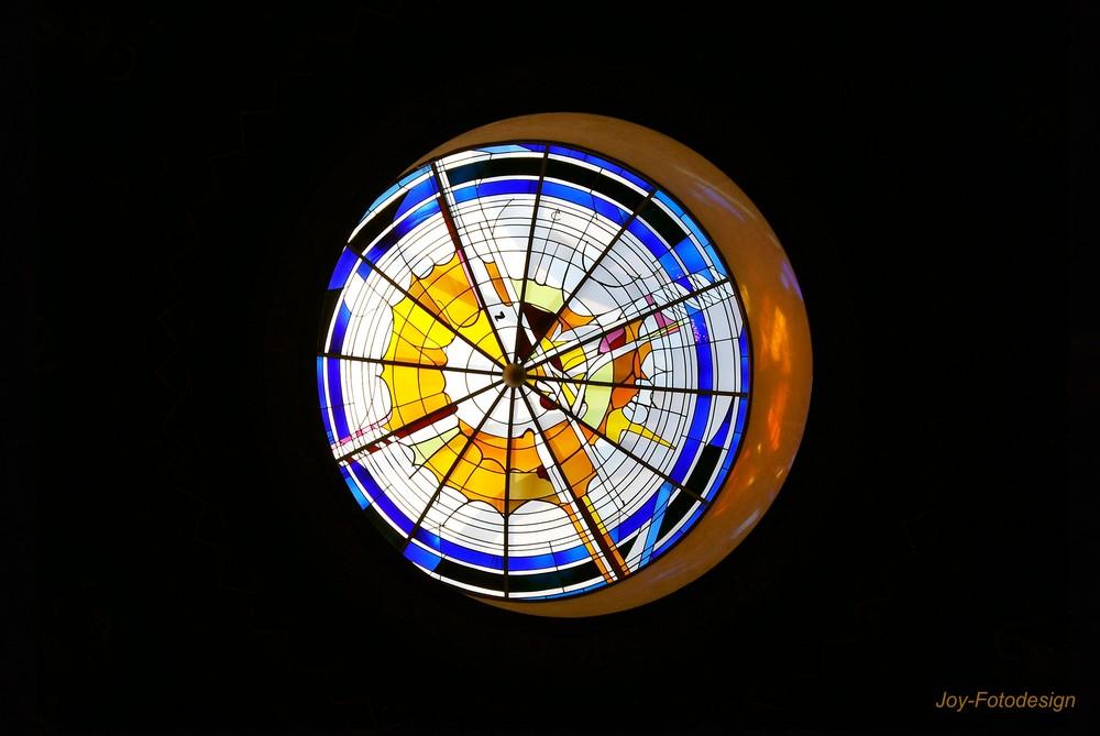 Lichtkuppel der St. Petri Kirche, Gesmold...