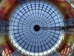 Lichtkuppel im Einkaufszentrum Limbecker Platz in Essen