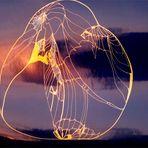 Lichtlinien-Skulptur (2)