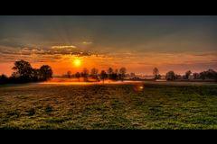 Lichtraum am Morgen