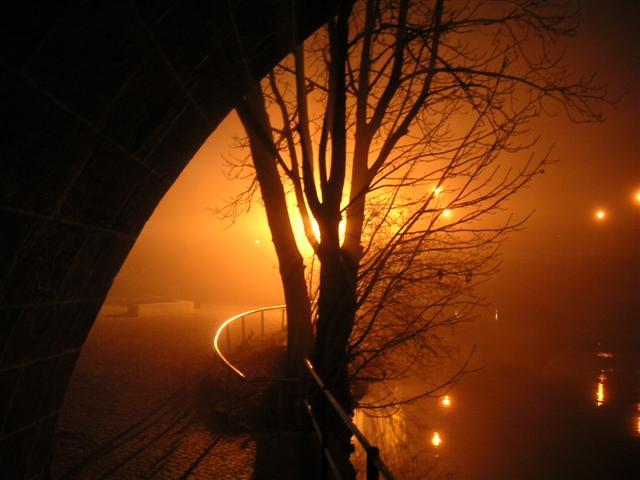 Lichtspiele an der Stadtbrille