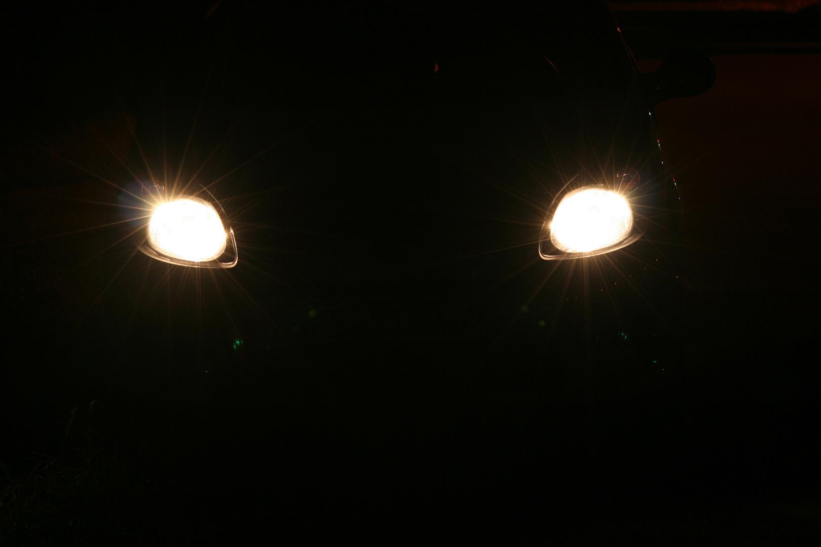 Lichtspiele bei Nacht
