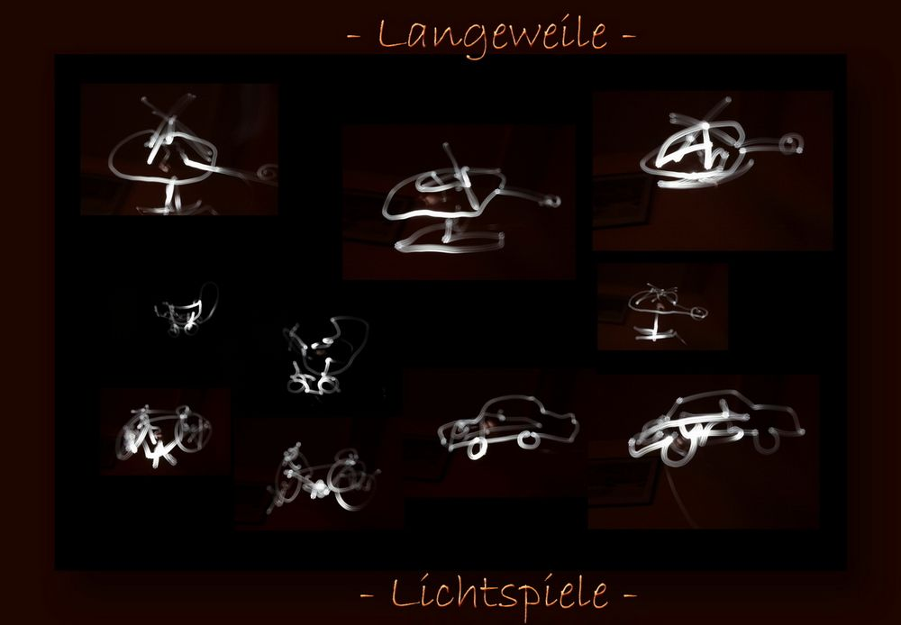 - Lichtspiele -