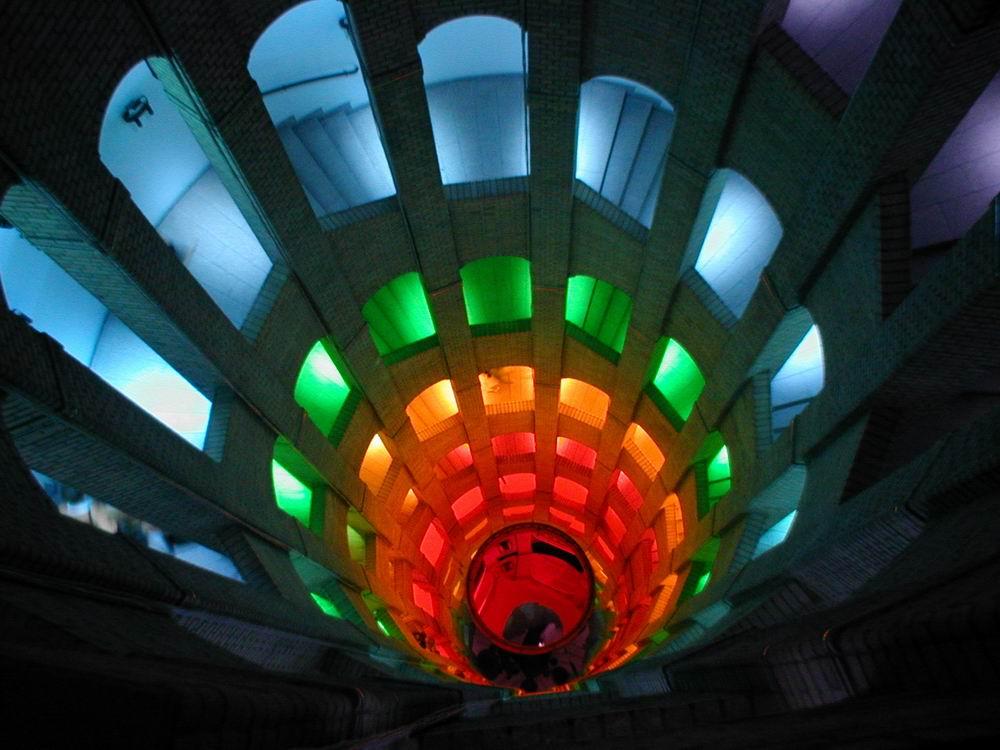 Lichtspiele im Französischen Dom