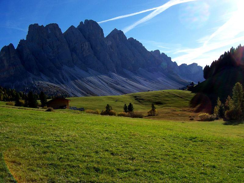 Lichtspiele in Südtirol