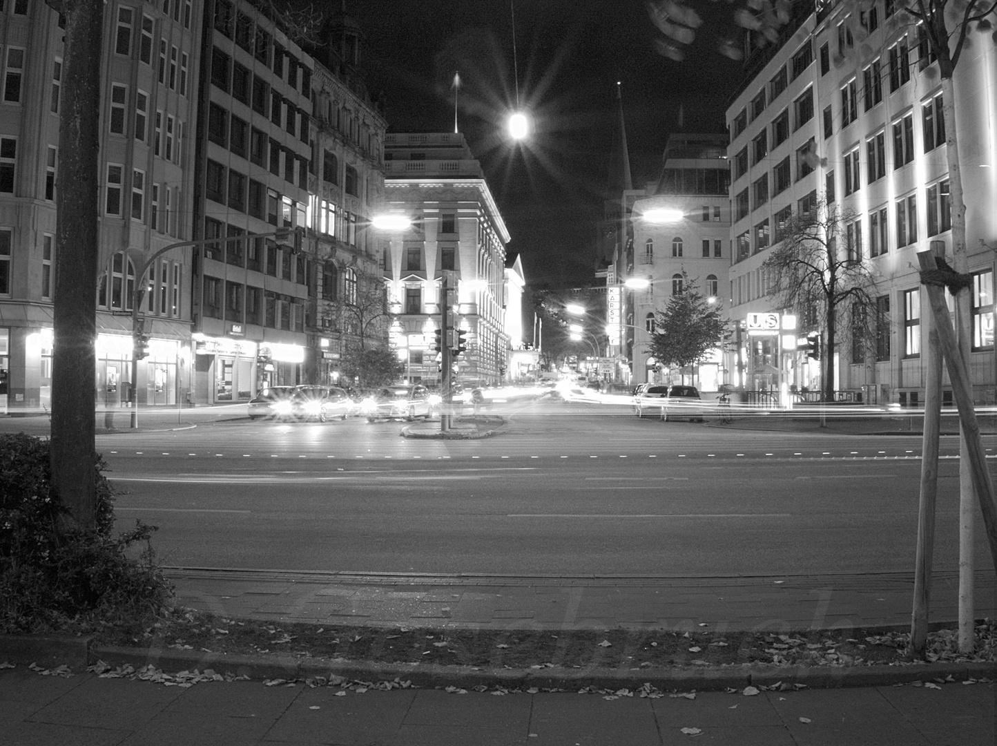 Lichtspuren der Nacht