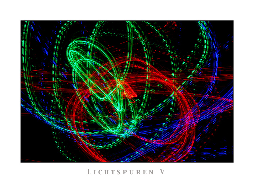 Lichtspuren V
