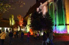 Lichtwoche 2020 am Kloster zum Heiligen Kreuz in Rostock