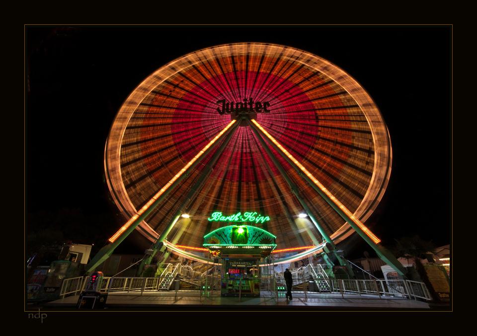 Lichtzauber III oder Riesenrad