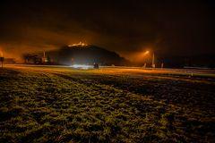 Lichtzieher mit Burg Breuberg
