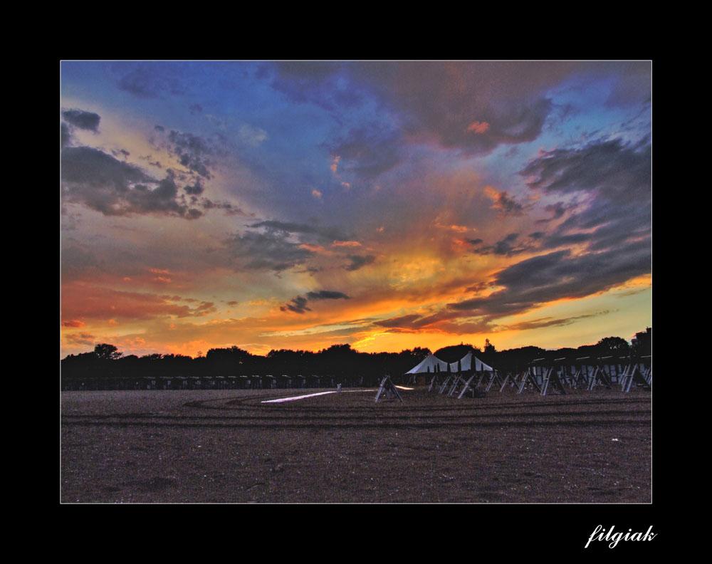 Lido di Venezia - Tramonto in Spiaggia