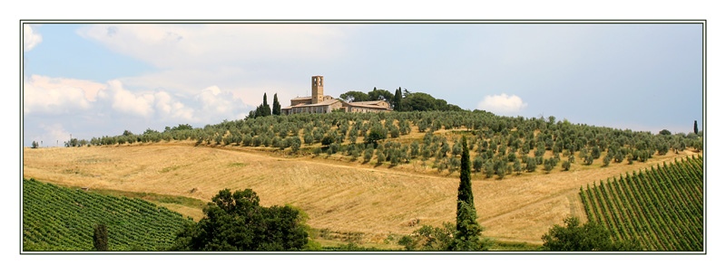 Liebe Grüße aus der schönen Toscana...